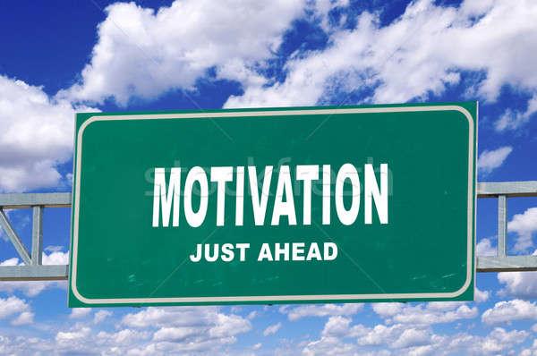 Motivation sign  Stock photo © badmanproduction