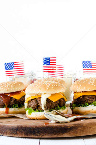 American cuisine Stock photo © badmanproduction