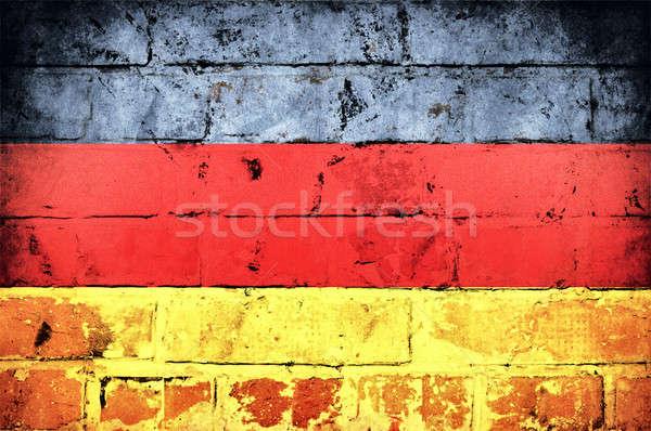 German flag Stock photo © badmanproduction