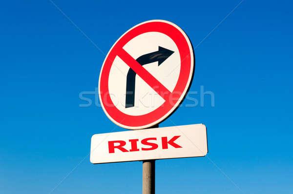 Risk turn Stock photo © badmanproduction