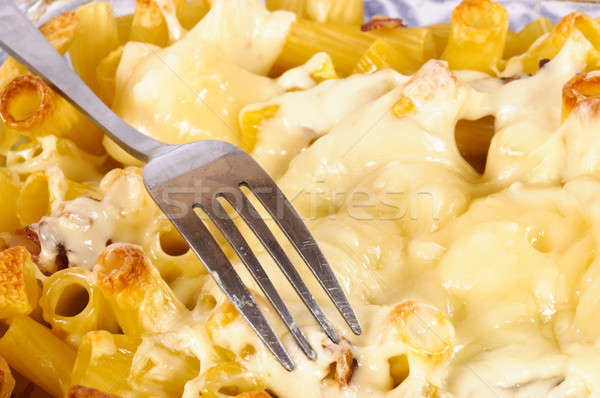 Macaroni fromages alimentaire fond vie chaud Photo stock © badmanproduction