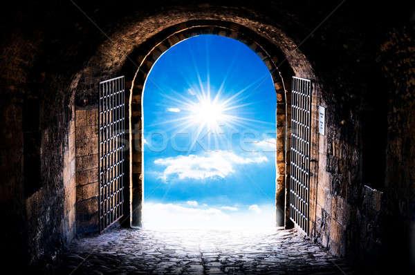 Haven's gate Stock photo © badmanproduction
