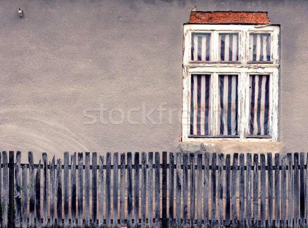 Stock photo: Old window