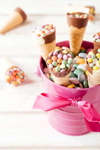 Sweet ice cream Stock photo © badmanproduction
