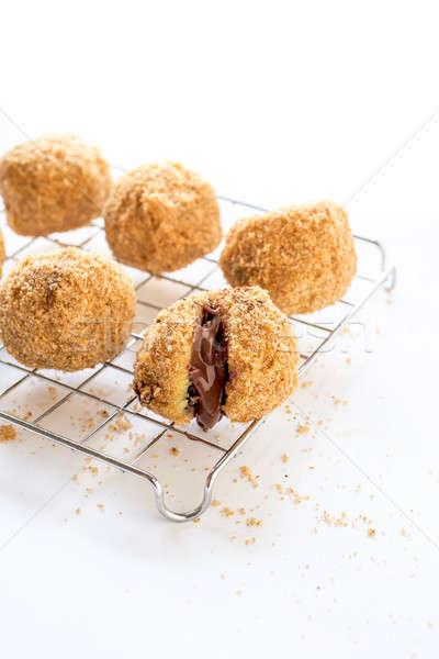 Stuffed dumplings Stock photo © badmanproduction