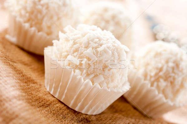 Fancy dessert Stock photo © badmanproduction