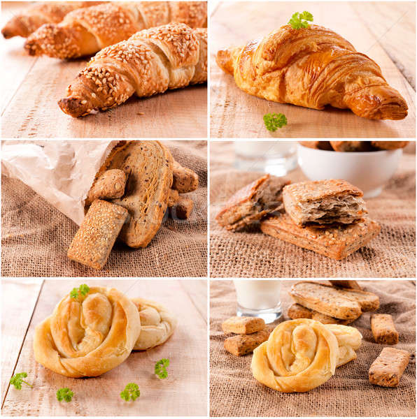 Pastry time Stock photo © badmanproduction