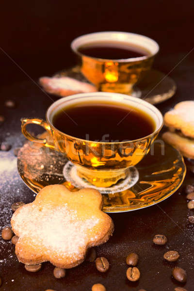 Coffee time Stock photo © badmanproduction