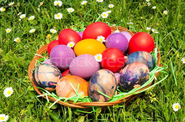 Eastern eggs Stock photo © badmanproduction