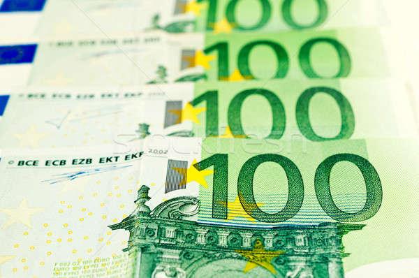 Euros background Stock photo © badmanproduction