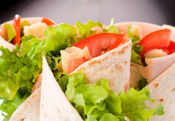 Tortilla wraps Stock photo © badmanproduction