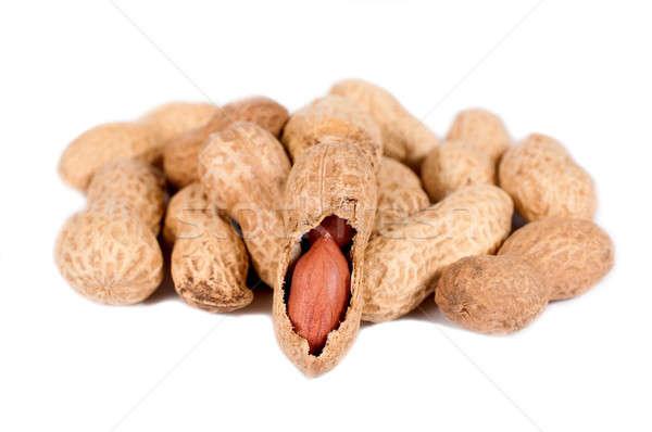 Raw pwanuts Stock photo © badmanproduction
