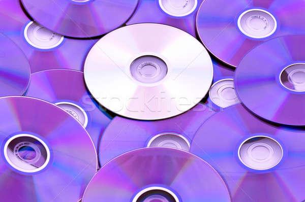 Zwarty komputera muzyki przemysłu kolor dźwięku Zdjęcia stock © badmanproduction