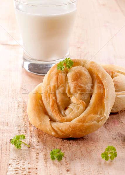 Serbian breakfast Stock photo © badmanproduction