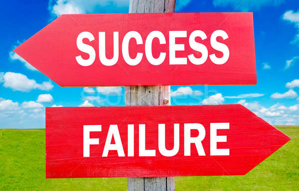 Success or Failure Stock photo © badmanproduction