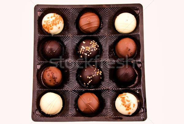 Praline pack Stock photo © badmanproduction