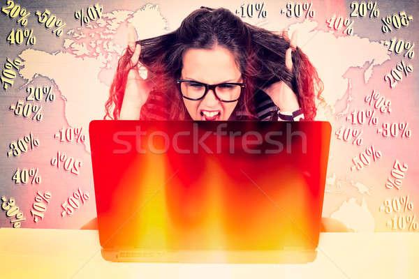 Finance stress Stock photo © badmanproduction