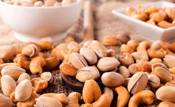 Photo stock: Casse-croûte · noix · nature · santé