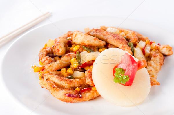 Fresh chicken meat Stock photo © badmanproduction