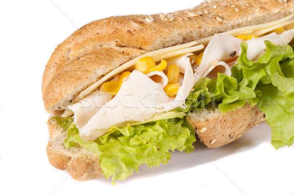 Sandwich isolated Stock photo © badmanproduction