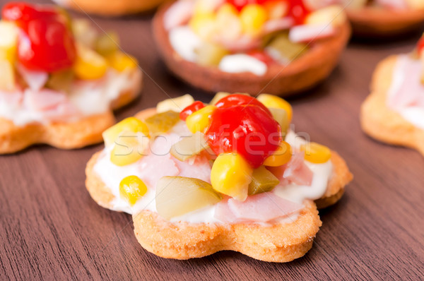 Small snack Stock photo © badmanproduction