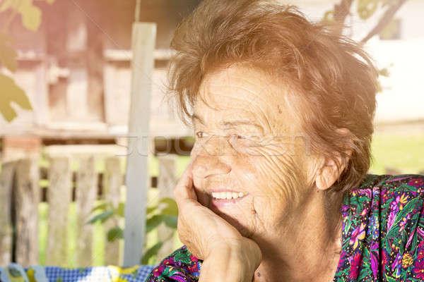 Old lady Stock photo © badmanproduction