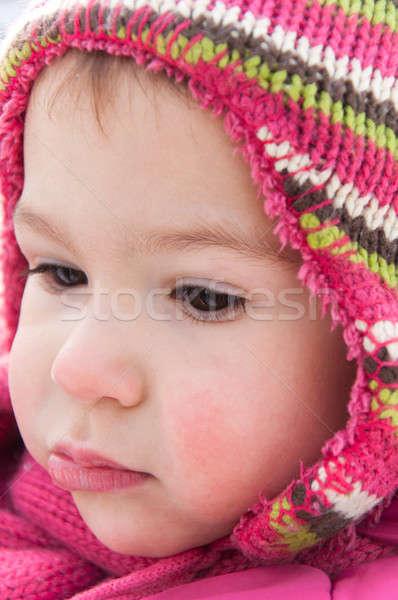 Worried Child Stock photo © badmanproduction