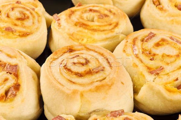 Close up pastry Stock photo © badmanproduction
