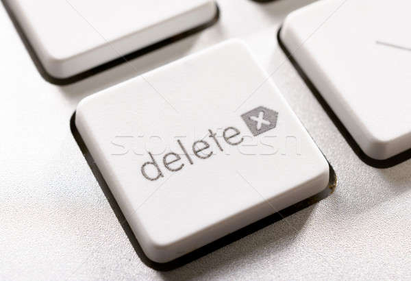 Delete button Stock photo © badmanproduction