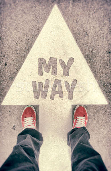 My way concept Stock photo © badmanproduction