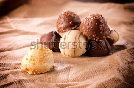 Chocolate time Stock photo © badmanproduction