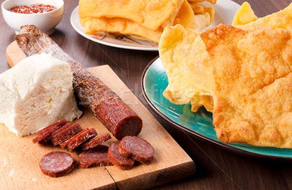 Serbian meal Stock photo © badmanproduction