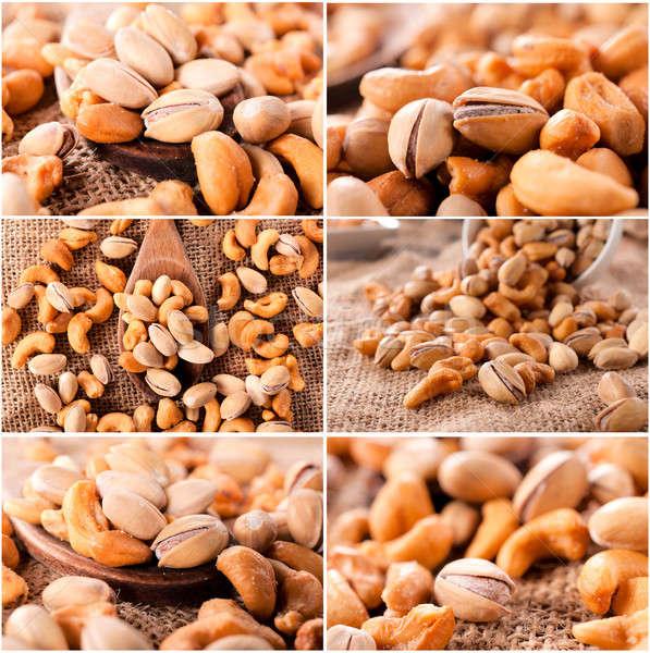 Nuts mix Stock photo © badmanproduction