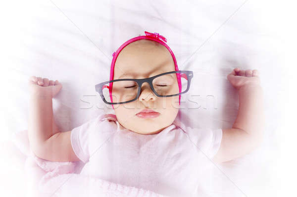 Baby in the sweet dreams Stock photo © badmanproduction