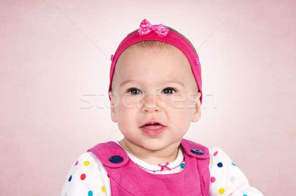 Baby portrait Stock photo © badmanproduction