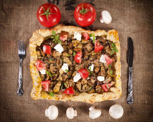 Tasty pie Stock photo © badmanproduction