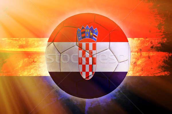 Croatian ball Stock photo © badmanproduction