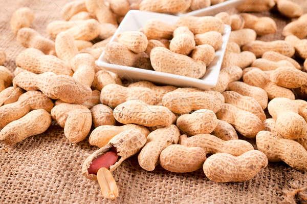 Peanut in shell Stock photo © badmanproduction