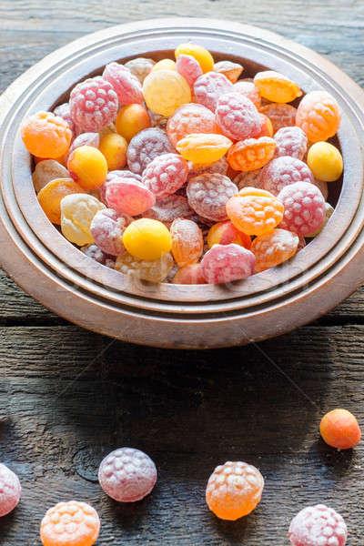 Assorted bonbons Stock photo © badmanproduction