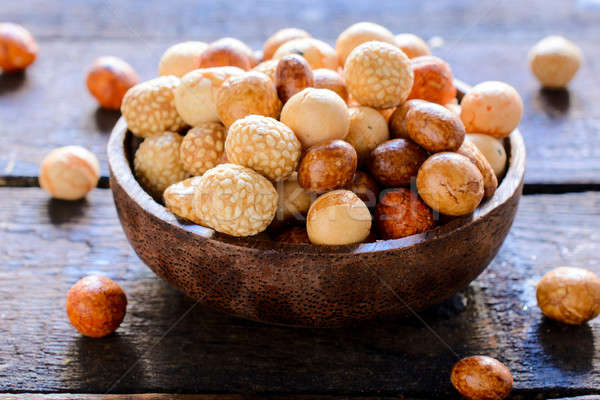 Sweet peanuts Stock photo © badmanproduction