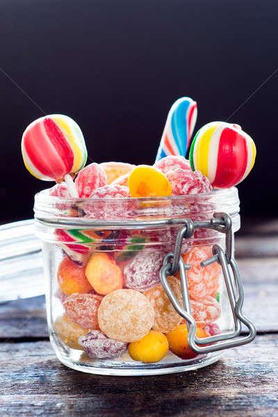 Sweet jar Stock photo © badmanproduction