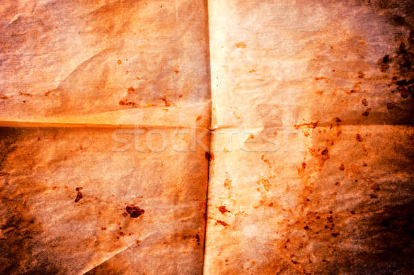 Old blank paper Stock photo © badmanproduction