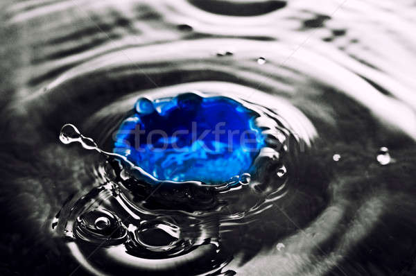 Blue water Stock photo © badmanproduction
