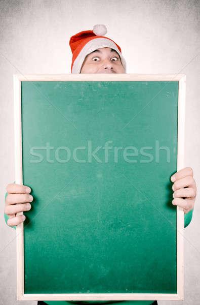 Funny Santa Stock photo © badmanproduction