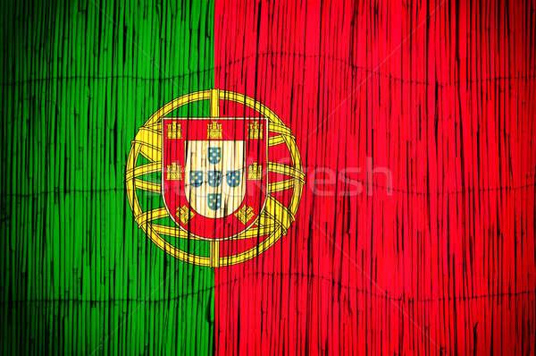 Portugal flag Stock photo © badmanproduction