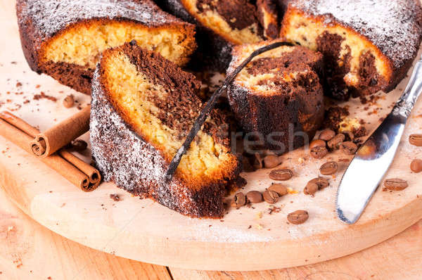 Sponge cake Stock photo © badmanproduction