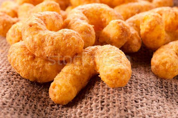 Niezdrowej żywności niezdrowy przekąski ser orzeszki ziemne żywności Zdjęcia stock © badmanproduction