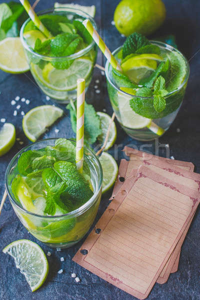 Mojito Cocktail Stock photo © badmanproduction