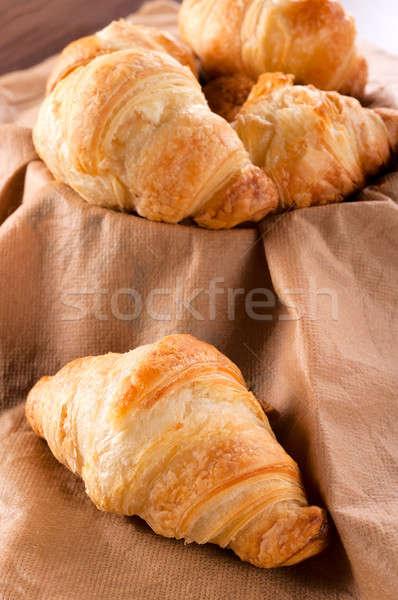Croissant time Stock photo © badmanproduction