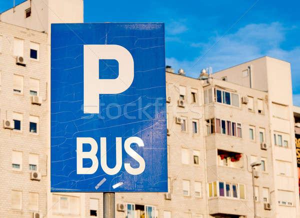 Bus parking Stock photo © badmanproduction